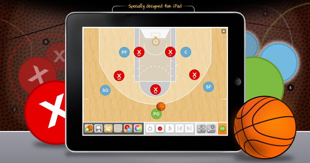Head Coach Basketball App by appnormals